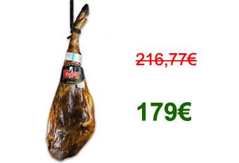 179 € – Ibérico de Bellota Hinterschinken – Bester spanischer Schinken