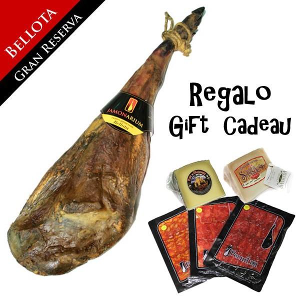 """Bellota iberischen Schinken """"Gran Reserva 2009"""" + Kostenlose Gourmet-Packung"""
