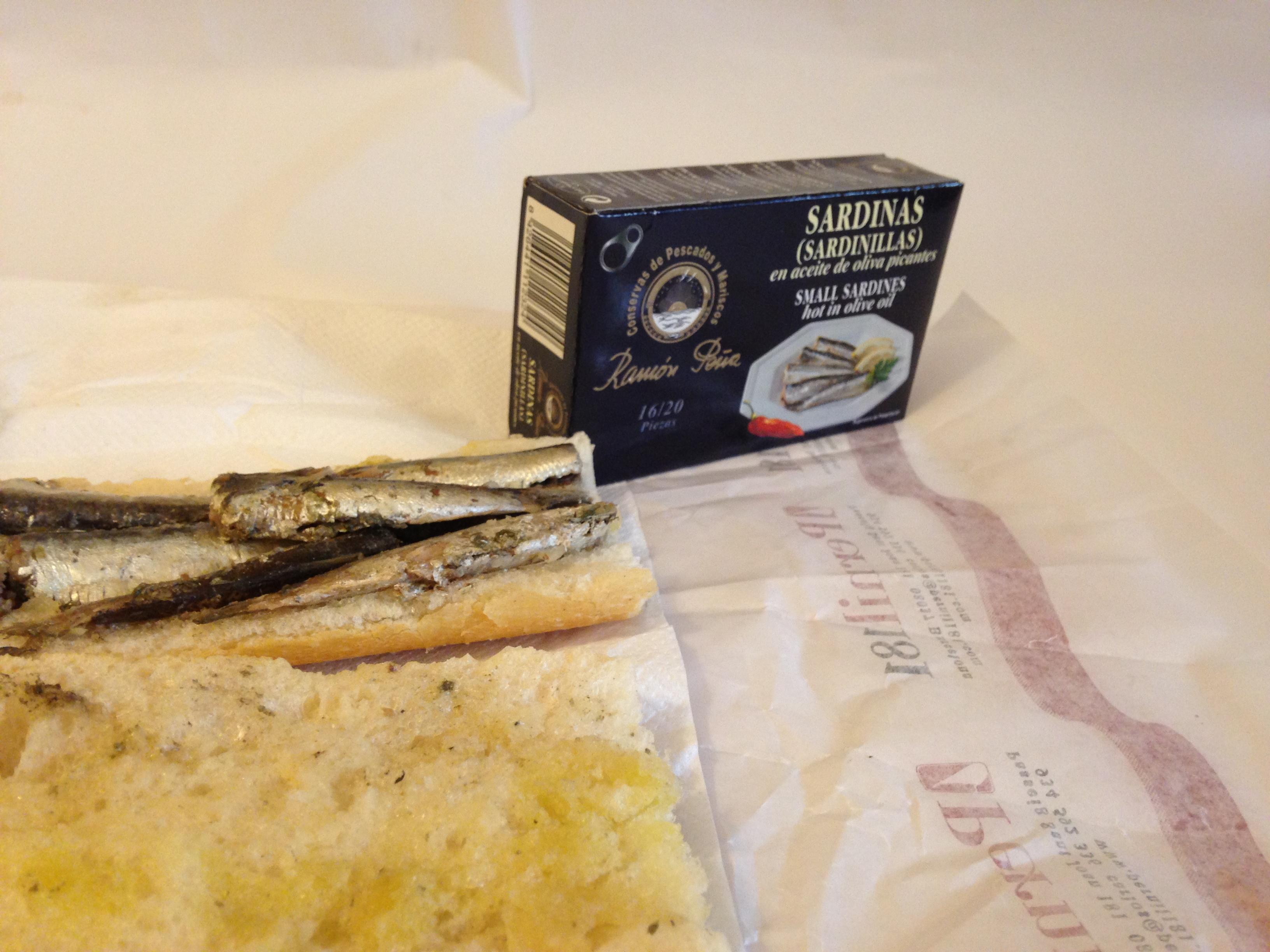 bocata de sardinas