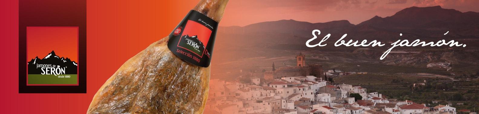 Serón Hams, seit 1880 mit exquisiter Qualität Serrano Ham