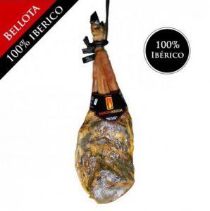 Pure Pata Negra 100% iberische Bellota Eichel Palette