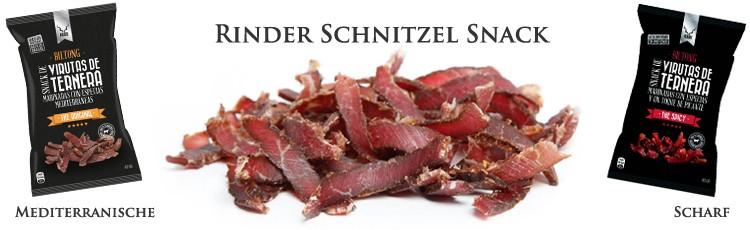 Kudu Biltong Feinschmecker Rindfleisch Snack (Schnitzel)