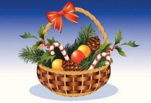 Woher kommt die Idee des Weihnachtskorbs?