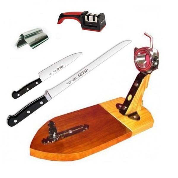 Arten von Messern zum Schneiden von Schinken