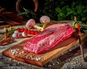 llata Kalbfleisch schwarzer Angus